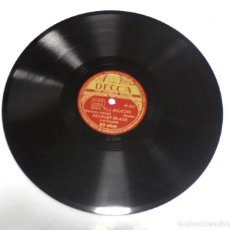 Discos de pizarra: DISCO PIZARRA. DECCA. RD 40249. DECCA. SIN TU AMOR / LA LAGUNA SULLA. Lote 161742042