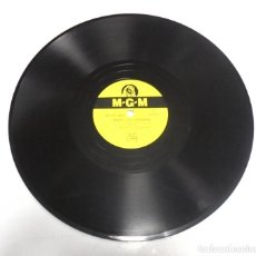 Discos de pizarra: DISCO PIZARRA. MGM. 8201. POZO SIN FONDO / FUEGO LENTO. Lote 161742262