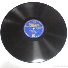 Discos de pizarra: DISCO PIZARRA. PHILIPS. P 17086 H. ME GUSTA COMO DICES BUENAS NOCHES / TU LLORAS. Lote 161742538