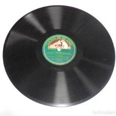 Discos de pizarra: DISCO PIZARRA. LA VOZ DE SU AMO. GY 756. HOJAS CAIDAS / POLVO DE ESTRELLAS. Lote 161742698