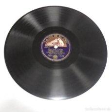 Discos de pizarra: DISCO PIZARRA. LA VOZ DE SU AMO. AA 623. UNA VOZ LLAMA / CHICAGO. Lote 161742878