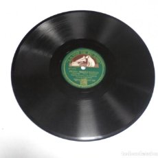 Discos de pizarra: DISCO PIZARRA. LA VOZ DE SU AMO. GY 828. OPUS Nº 1 / SWING ARISTOCRATICO. Lote 161743014