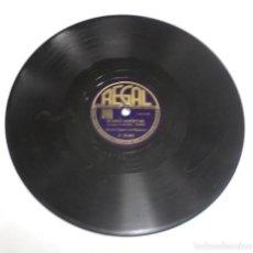 Discos de pizarra: DISCO PIZARRA. REGAL. C 10065. RUMBA COCKTAIL / BOLA NEGRA. Lote 161743790