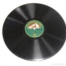 Discos de pizarra: DISCO PIZARRA. LA VOZ DE SU AMO. GY 668. SERENATA EN AZUL / TENGO UNA NOVIA EN KALAMAZOO. Lote 161749246