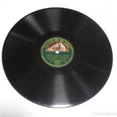 Discos de pizarra: DISCO PIZARRA. LA VOZ DE SU AMO. GY 669. AQUELLA MAGIA NEGRA / ¡POR FIN!. Lote 161749558