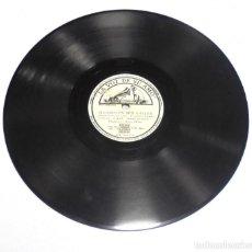 Discos de pizarra: DISCO PIZARRA. LA VOZ DE SU AMO. GY 561. SUCEDIO EN SUN VALLEY / LA POLCA DEL BESO. Lote 161749898