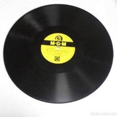 Discos de pizarra: DISCO PIZARRA. MGM. 8217. ERES MI BUENA ESTRELLA / CANTANDO BAJO LA LLUVIA. GENE KELLY. Lote 161750062