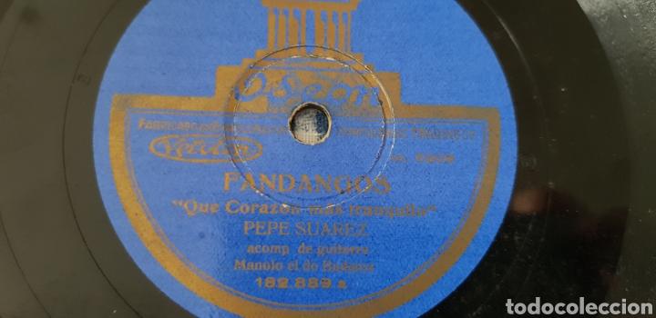 Discos de pizarra: Disco 78 rpm Pepe Suarez - Foto 4 - 161879833
