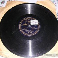 Discos de pizarra: DISCO REGAL LA PROMESA / PATOTERO SENTIMENTAL. Lote 162608798