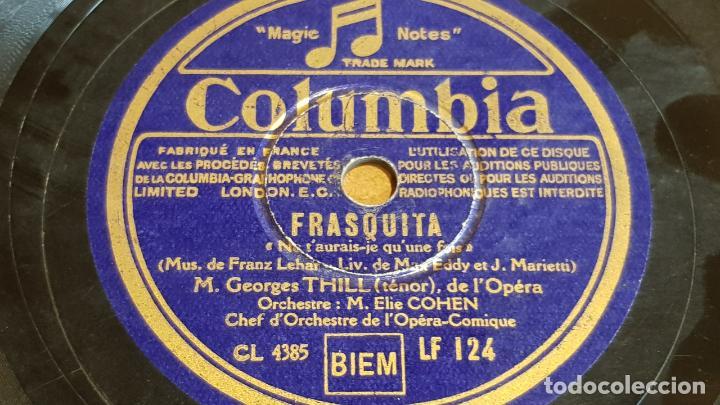 PIZARRA !! ORCHESTRE M. ELIE COHEN / FRASQUITA / COLUMBIA - 25 CM. (Música - Discos - Pizarra - Otros estilos)