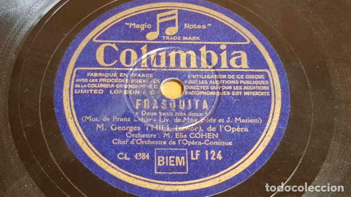 Discos de pizarra: PIZARRA !! ORCHESTRE M. ELIE COHEN / FRASQUITA / COLUMBIA - 25 CM. - Foto 2 - 162694306