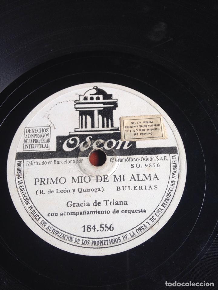 PRIMO MÍO DE MI ALMA GRACIA DE TRIANA (Música - Discos - Pizarra - Flamenco, Canción española y Cuplé)