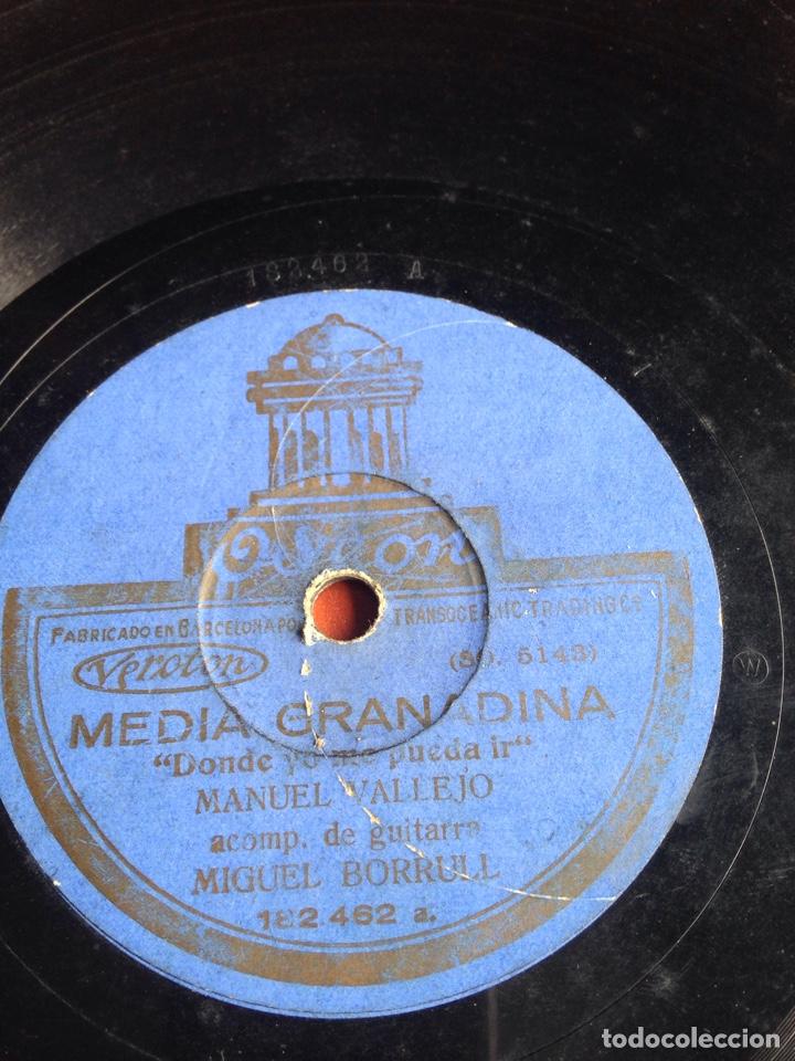 MEDIA GRANADINA MANUEL VALLEJO (Música - Discos - Pizarra - Flamenco, Canción española y Cuplé)
