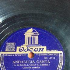 Discos de pizarra: ANDALUCÍA CANTA ANTONIO AMAYA. Lote 162922249