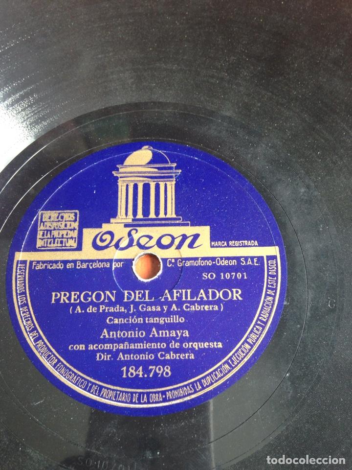 Discos de pizarra: Andalucía canta Antonio Amaya - Foto 3 - 162922249