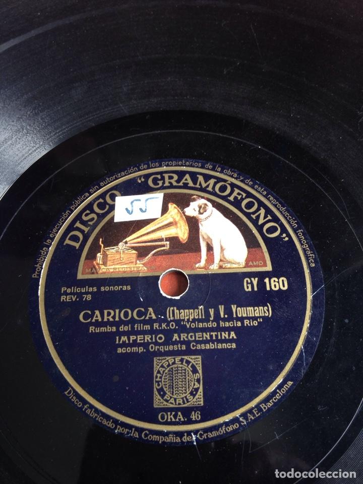 Discos de pizarra: Romanza ruas imperio Argentina - Foto 3 - 162922424