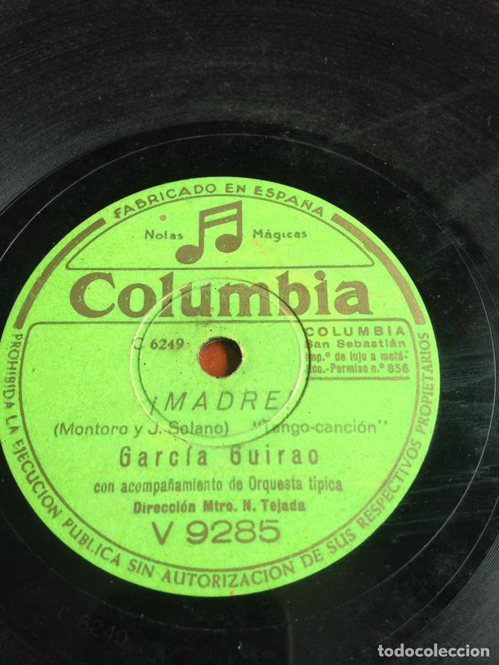 MADRE GARCÍA GUIRAO (Música - Discos - Pizarra - Flamenco, Canción española y Cuplé)