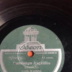 Discos de pizarra: FANDANGO ANGELILLO. Lote 162946486