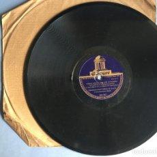Discos de pizarra: DISCO DE PIZARRA ODEON, HIMNO OFICIAL DEL XXII CONGRESO EUCARISTICO INTERNACIONAL, 2 CARAS. Lote 163076758