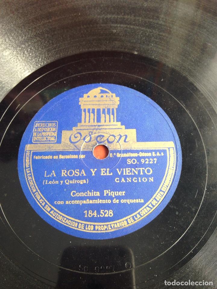 LA ROSA Y EL VIENTO CONCHITA PIQUER (Música - Discos - Pizarra - Flamenco, Canción española y Cuplé)