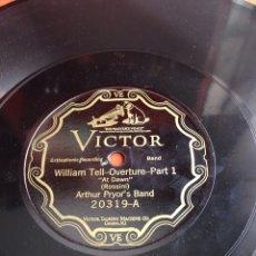 Discos de pizarra: WILLIAM TELE OVERTURE. Lote 164204082