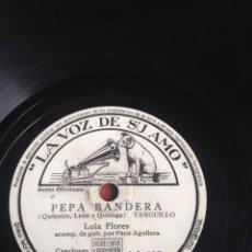 Discos de pizarra: PEPA BANDERA LOLA FLORES. Lote 164743922