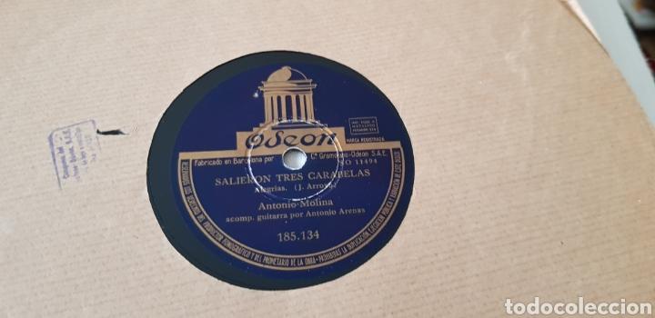 DISCO DE PIZARRA ANTONIO MOLINA (Música - Discos - Pizarra - Flamenco, Canción española y Cuplé)
