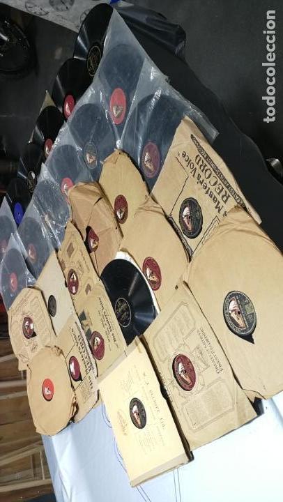 Discos de pizarra: GRAN LOTE DE 27 DISCOS DE PIZARRA VARIADOS, muy baratitos salen a 5e la unidad - Foto 2 - 165989630