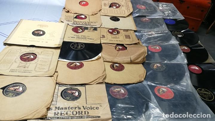 Discos de pizarra: GRAN LOTE DE 27 DISCOS DE PIZARRA VARIADOS, muy baratitos salen a 5e la unidad - Foto 3 - 165989630