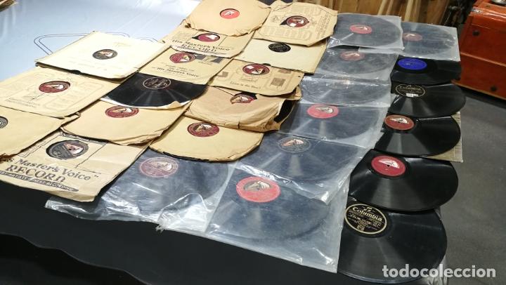 Discos de pizarra: GRAN LOTE DE 27 DISCOS DE PIZARRA VARIADOS, muy baratitos salen a 5e la unidad - Foto 4 - 165989630