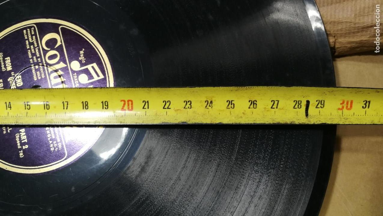 Discos de pizarra: GRAN LOTE DE 27 DISCOS DE PIZARRA VARIADOS, muy baratitos salen a 5e la unidad - Foto 6 - 165989630