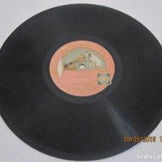 Discos de pizarra: DISCO GRAMOFONO TOSCA DE PUCCINI ELUSEVAN LE STELLE SUNG BY SIG. CARUSO SOLO TIENE 1 CARA . Lote 166121998