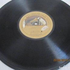 Discos de pizarra: DISCO DE PIZARRA LA ALEGRE TROMPETERIA Y EL ALICANTINO. Lote 166130394