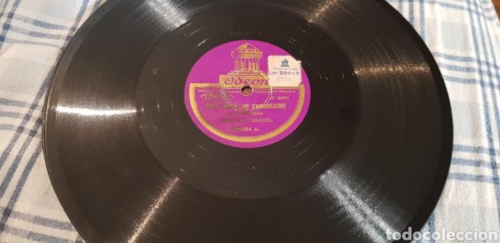 Discos de pizarra: DISCO 78 RPM TANGO CARLOS GARDEL - Foto 2 - 166238557