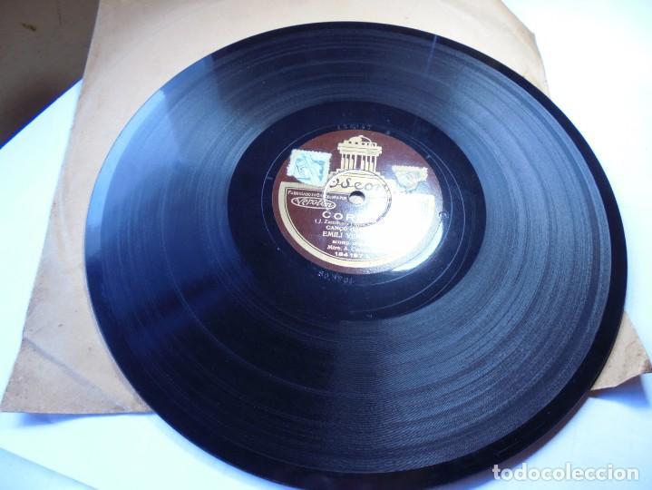 Discos de pizarra: magnifico antiguo disco de pizarra,corpus canço catalana ycanço tragines,emili vendrell - Foto 3 - 166301026