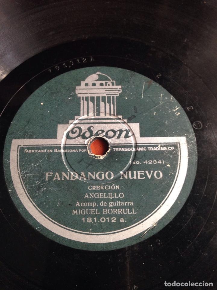 FANDANGO NUEVO ANGELILLO (Música - Discos - Pizarra - Flamenco, Canción española y Cuplé)