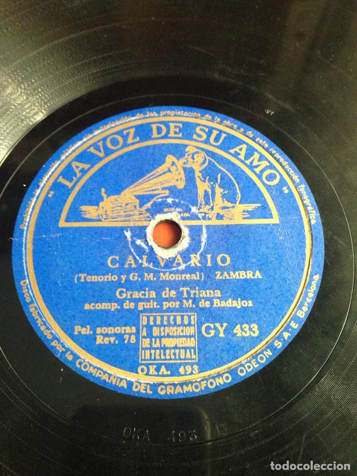 CALVARIO GRACIA DE TRIANA (Música - Discos - Pizarra - Flamenco, Canción española y Cuplé)