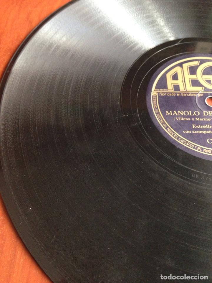 Discos de pizarra: Manolo de mis amores estrellita de palma - Foto 3 - 166311912