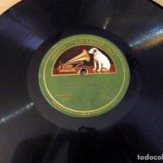 Discos de pizarra: GRAMOFONO. SAETA / MALAGUEÑAS II. COJO DE MALAGA. GUITARRA MIGUEL BURRULL. FLAMENCO. Lote 166351990