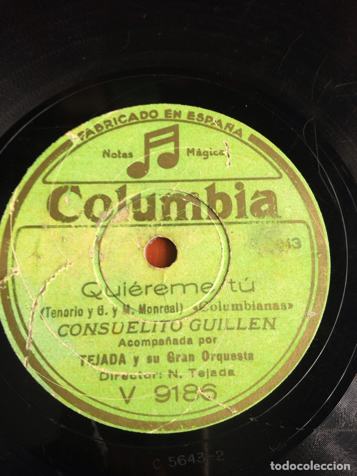 Discos de pizarra: Mardita caena consuelito Guillén - Foto 4 - 166426113