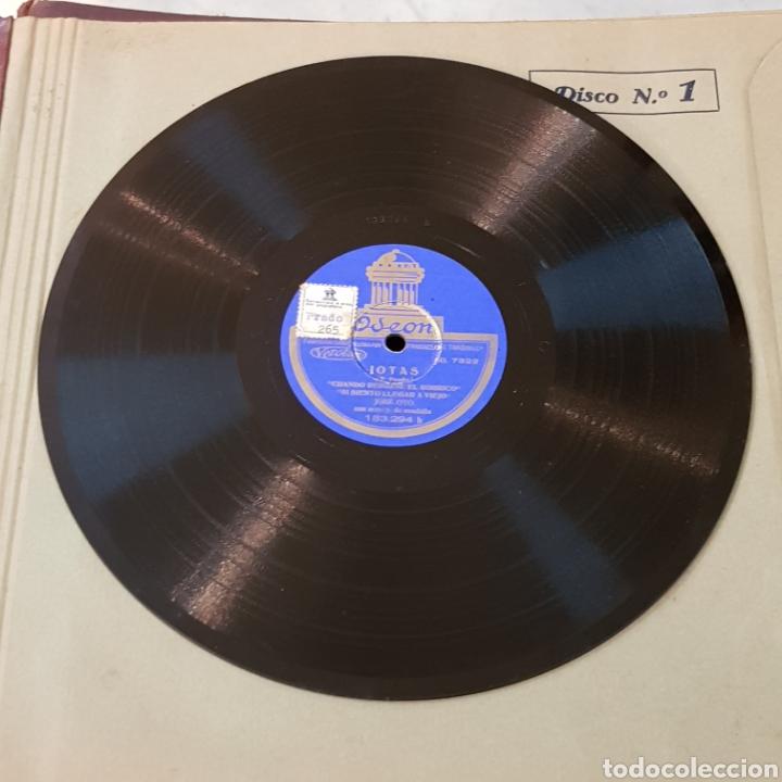 Discos de pizarra: JOTAS - JOSE OTO - DISCO PIZARRA 78 RPM VER FOTOS - Foto 2 - 166543692