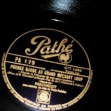 Discos de pizarra: DISCO PIZARRA PARA GRAMÓFONO,,LA FILLA DU COUPEURDE PAILLE,. Lote 167185904