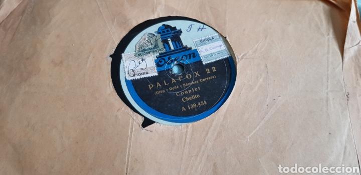DISCO 78 RPM LA CHELITO CUPLÉ (Música - Discos - Pizarra - Flamenco, Canción española y Cuplé)