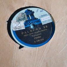 Discos de pizarra: DISCO 78 RPM LA CHELITO CUPLÉ. Lote 167603550