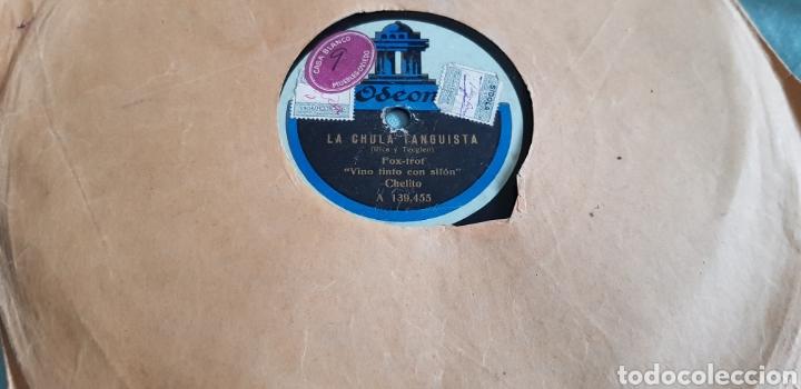 Discos de pizarra: DISCO 78 RPM LA CHELITO CUPLÉ - Foto 2 - 167603550