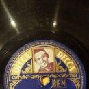Discos de pizarra: DISCO 78 RPM - DECCA FOTO - WILL FERDY - ORQUESTA - M´N SCHATTEKE - BLAUWE OGEN - JAZZ - PIZARRA. Lote 167926928