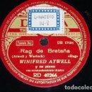 Discos de pizarra: DISCO 78 RPM - DECCA - WINIFRED ATWELL - PIANO - RAG DE BRETAÑA - BOOGIE DE DIXIE - JAZZ - PIZARRA. Lote 167936428