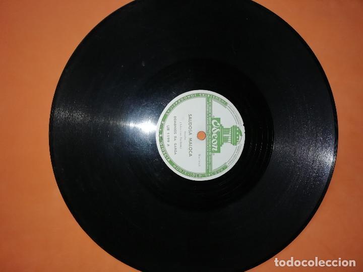Discos de pizarra: DEMONIOS DA GAROA. SAMBA. DOS DISCOS PIZARRA. URUGUAY. ODEON 1957. RAROS. - Foto 5 - 168091088