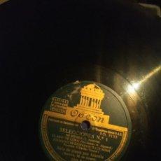 Discos de pizarra: DISCO DE PIZARRA : SELECCIONES DUKE ELLINGTON, CHARLES TRENET (PIANO: AZAROLA / BATERIA : ALEGRE. Lote 168226420