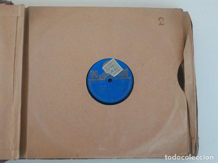Discos de pizarra: ALBUM 10 DISCOS. COLUMBIA, ODEON, GRAMOFONO, PARLOPHON. FOXTROT, PASODOBLE, CHARLESTON, PASACALLE. - Foto 8 - 168244244
